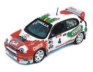 Skidmark M99075 TOYOTA COROLLA WRC CASTROL BOUCLES Modellino