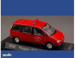 Solido 1540 PEUGEOT 806 AMBULANCE 1995 1/43 Modellino