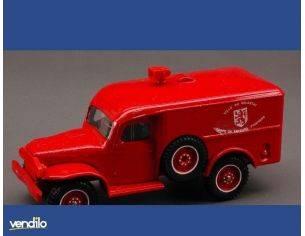 Solido SL2128 DODGE WC 54 POMPIERS 1:50 Modellino