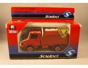 Solido 2146 MERCEDES UNIMOG FEUX DE FORET  1/50 Modellino