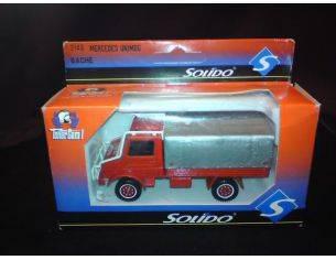 Solido 2148 MERCEDES UNIMOG FIRE TRUCK 1/50 Modellino