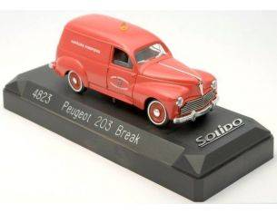 Solido 4823 PEUGEOT 203 BREAK '54 1/43 Modellino