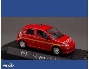 Solido SL4837 CITROEN C 3 POMPIERS 1:43 Modellino