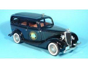 Solido 8073 FORD SEDAN POLIZIA 1934 1/18 Modellino