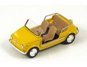 Spark Model S1497 FIAT 500 JOLLY YELLOW 1:43 Modellino