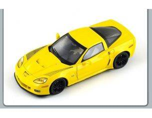 Spark Model S1536 CORVETTE C6 RS COUPE' 2009 YELLOW 1:43 Modellino