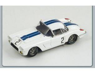 Spark Model S1538 CHEVROLET CORVETTE N.2 LM 1960 THOMPSON-WINDRIDGE 1:43 Modellino