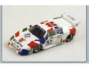 Spark Model S1583 BMW M1 N.52 LE MANS 1981 1:43 Modellino