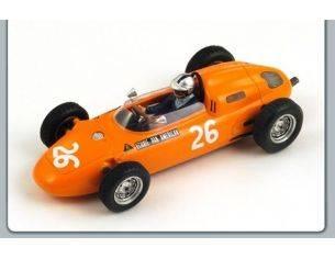 Spark Model S1862 PORSCHE G.MITTER 1963 N.26 4th GERMAN GP 1:43 Modellino