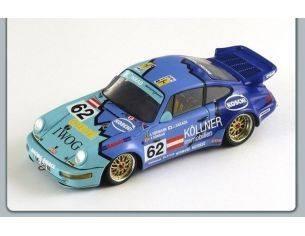 Spark Model S2075 PORSCHE 911 CARRERA 2 CUP N.62 LM 1993 1:43 Modellino