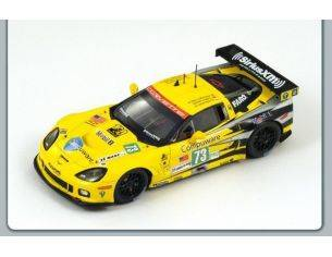 Spark Model S2541 CHEVROLET CORVETTE N.73 11th LM 2011 WINNER LM GTE  1:43 Modellino
