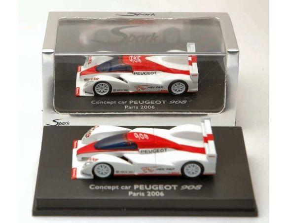 Spark Model S87006 PEUGEOT 908 PARIS 2006 1:87 Modellino