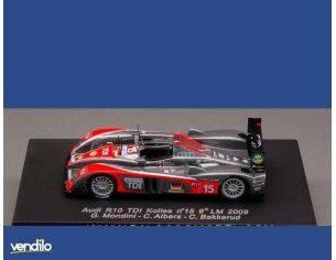 Spark Model S87118 AUDI R 10 N.15 9th LM 2009 1:87 Modellino