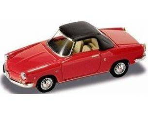Starline 505338 FIAT ABARTH 850 SOFT TOP RED 1/43 Modellino