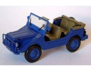 Starline STR50983 DKW MUNGA 4 THW OPEN BLUE 1:43 Modellino