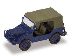 Starline 609838 DKW MUNGA THW BLU CHIUSA 1/43 Modellino