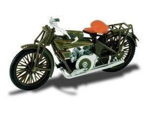 Starline 9006 MOTO GUZZI NORMALE GREEN 1/24 Modellino