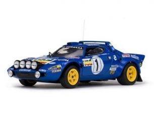 Sun Star SS4519 LANCIA STRATOS HF RALLY N.1 2nd M.CARLO 1980 DARNICHE-MAHE' 1:18 Auto Rally          Modellino