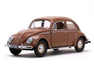 SunStar SS5203 VW BEETLE 1949 SALOON BROWN 1:12 Modellino