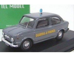 TelModel 09 FIAT 850 BERLINA GUARDIA DI FINANZA Modellino
