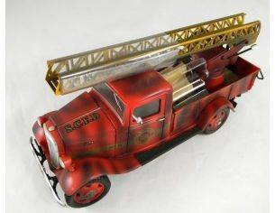 Tin's Manufactured 76404 CHEVROLET PICK UP VIGILI FUOCO 1/24 Modellino