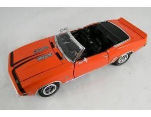 Tin's Manufactured 76802 CAMARO SS396 COVERTIBLE '69 ORANGE Modellino
