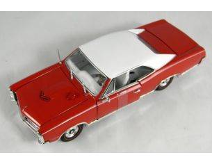 Tin's Manufactured 79701 PONTIAC GTO '67 HARD TOP RED 1/24 Modellino