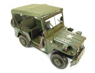 Tinplate 2506 JEEP WILLY'S GREEN 1/12 Modellino