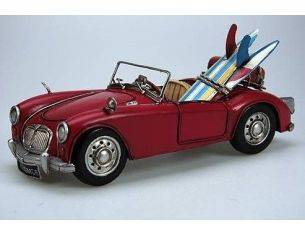 Tinplate 2709 MGA 1600 MKII RED 1962 1/12 Modellino