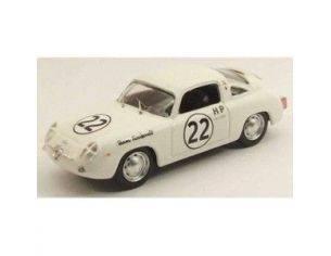 Best Model BT9485 FIAT ABARTH 750 ZAGATO N.22 WINNER 4 H SEBRING 1960 P.RICHARDS 1:43 Modellino