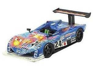 Top Model LM010 AUTOEXE MAZDA WR n.24 LE MANS'02 1/43 Modellino