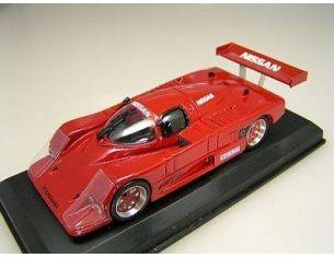 Top Model LM032 NISSAN R86V RED 1987 1/43 PRESENTAT. Modellino