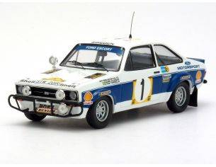 Trofeu 1019 FORD ESCORT MK II WORKS TEAM 1'RALLY Modellino