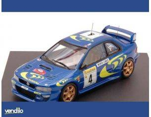 Trofeu TF1102 SUBARU IMPREZA N.4 WINNER MONTE CARLO 1997 LIATTI-PONS 1:43 Modellino