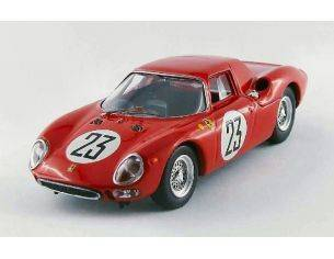 Best Model BT9499 FERRARI 250 LM N.23 16th LM 1964 DUMAY-VAN OPHEM 1:43 Modellino