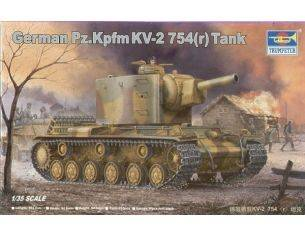 Trumpeter TP0367 CARRO GERMAN KV-2 KIT 1:35 Modellino