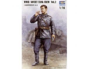 TRUMPETER 00702 WWII SOVIET TANK CREW VOL.2 Modellino