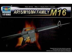 TRUMPETER 01901 AR15/M16/M4 FAMILY M16 Modellino