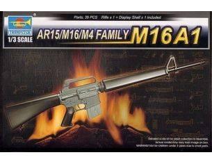 TRUMPETER 01903 AR15/M16/M4 FAMILY-M16A1 Modellino