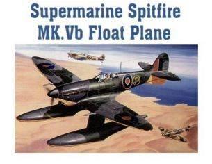 TRUMPETER 02404 SUPER MARINE SPITFIRE MK.VB FLOATPLANE Modellino