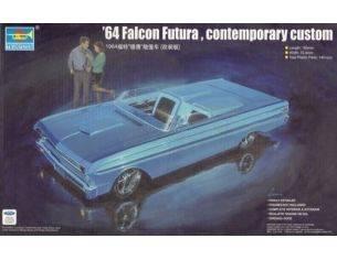 TRUMPETER 02510 '64 FUTURA CONTEMPORARY CUSTOM Modellino