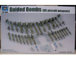 TRUMPETER 03304 US AIRCRAFT WEAPONS GUIDED BOMBS Modellino