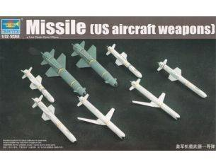 TRUMPETER 03306 U.S. AIRCRAFT WEAPONS MISSILES Modellino