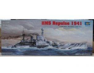 Trumpeter TP5312 NAVE HMS REPULSE 1941 KIT 1:350 Modellino
