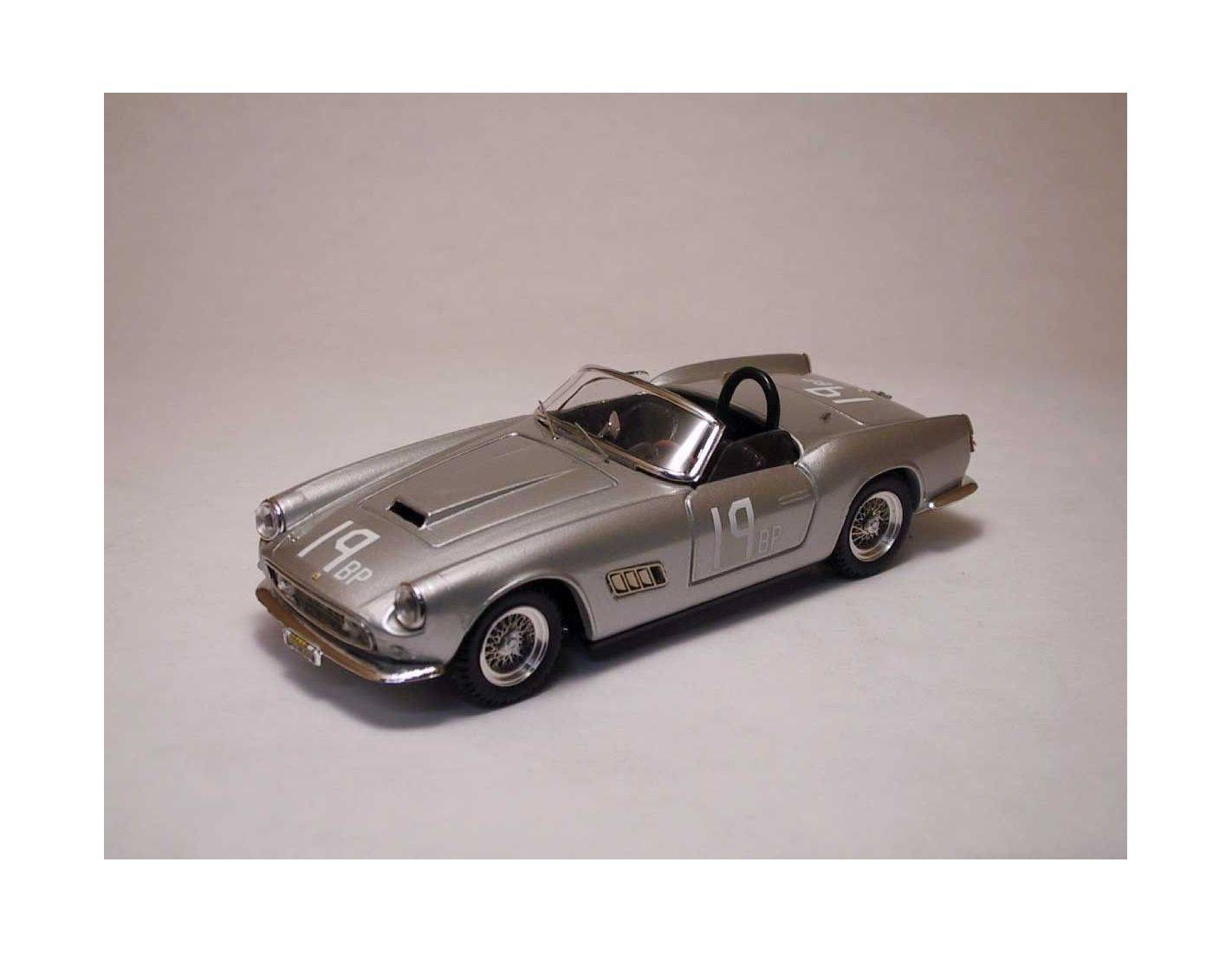 Art Model AM0078 FERRARI 250 CALIFORNIA N.19 DNF CUMBERLAND BP 1960  B.GROSSMAN 1:43 Modellino