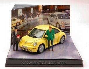 Vitesse VE1755 VLM024 VW NEW BEETLE 1999 YELL.1:43 Modellino