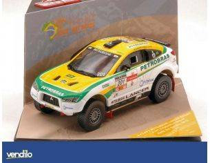 Vitesse VE43463 MITSUBISHI L RACING N.201 2nd RALLY D.SERTOES 2012 SPINELLI-YOUSSEF 1:43 Modellino