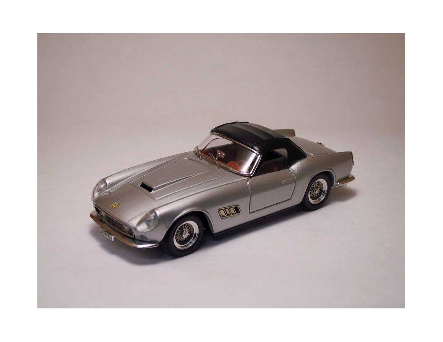Art Model AM0085 FERRARI 250 CALIFORNIA 1957 SOFT TOP SILVER 1:43 Modellino
