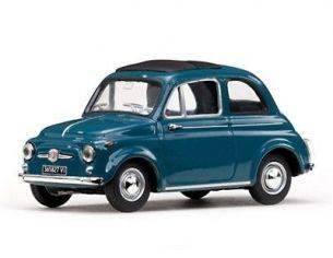 Vitesse VE24507 FIAT 500 D 1964 BLUE 1/43 Modellino