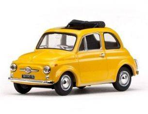 Vitesse VE24508 FIAT 500F 1964 YELLOW 1/43 Modellino